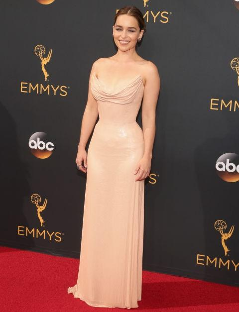 Emilia Clarke of Game of Thrones in Atelier Versace. - SeenIt