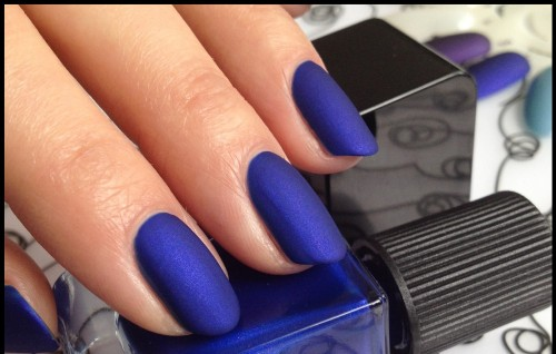 Find me this baby on a domestic website, electric blue nail paint - SeenIt