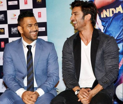 Would like to recreate dhoni's look!! blue suit - SeenIt