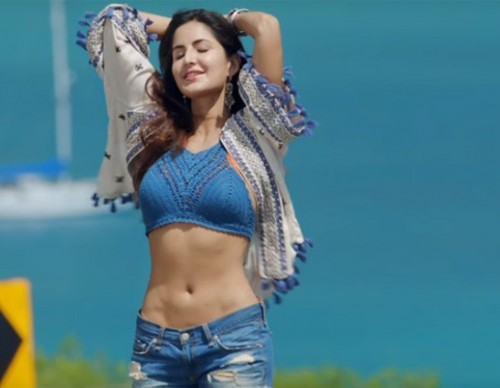 want this Katrina's short white and blue pom pom shrug ( from movie-  बार बार देखो ) 👑🙆 . - SeenIt