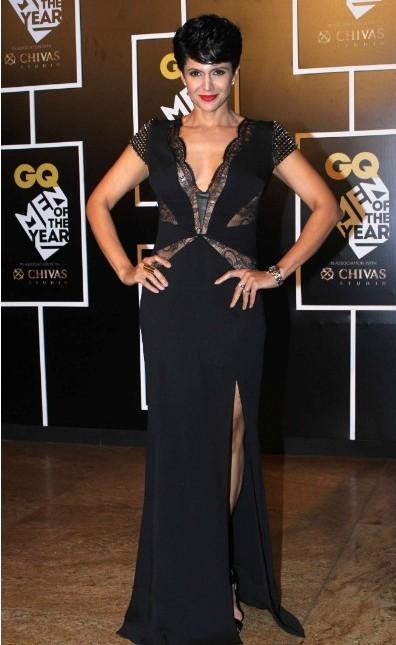 Mandira Bedi at the GQ Style Awards 2016. - SeenIt