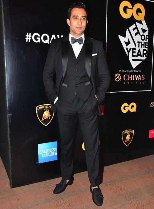 Rahul Khanna at the GQ Style Awards 2016. - SeenIt