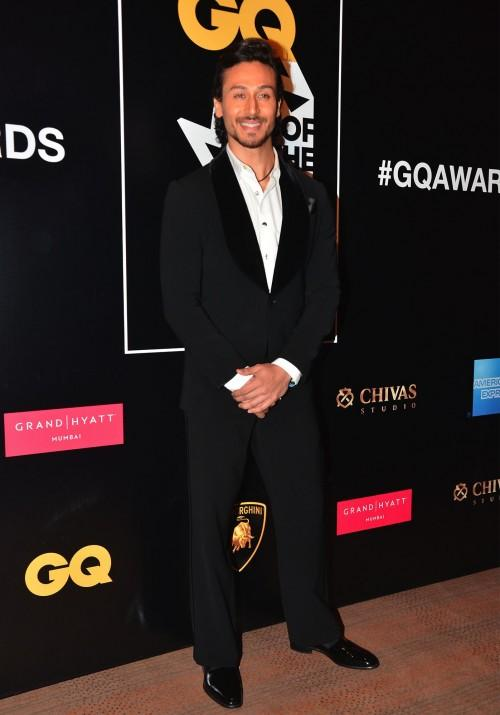 Youth Icon, Tiger Shroff, at the GQ Style Awards 2016. - SeenIt