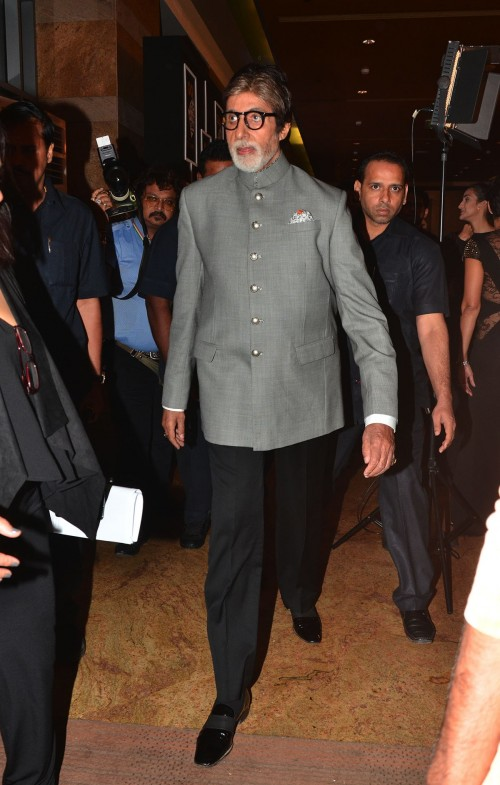 The Legend, Amitabh Bachchan, at the GQ Style Awards. - SeenIt