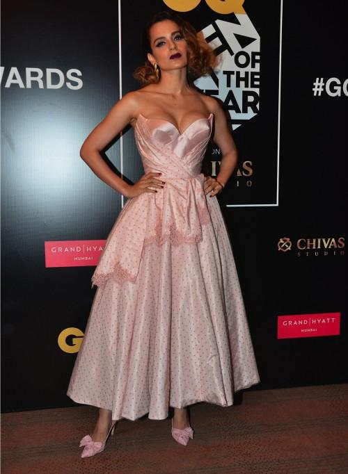 Woman of the Year, Kangana Ranaut, at the GQ Style Awards 2016. - SeenIt