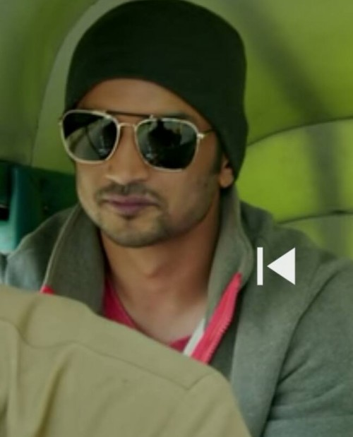 Sushant Rajput was wearing this shade in Dhoni the untold story. not able to find online. - SeenIt