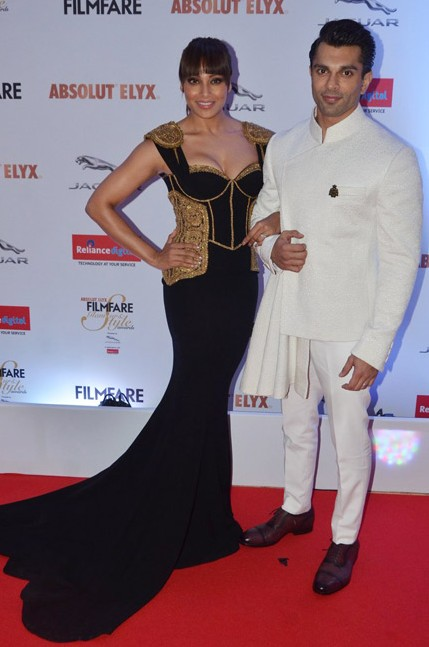 Bipasha and Karan Singh Grover in Shantanu and Nikhil  at the Filmfare Glamour And Style Awards - SeenIt