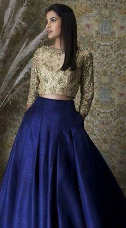 Shop Diwali Diwali2017 Outfit Skirt Top On Seenit 16464