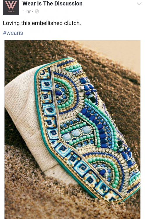 Such a beautiful piece. Similar clutches please. - SeenIt