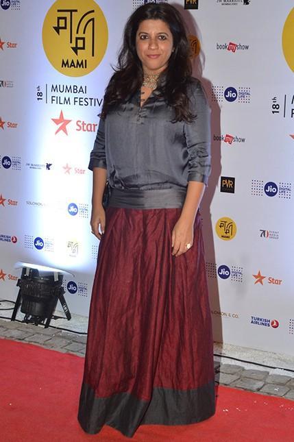 e5c00c09b5 Zoya Akhtar at the MAMI Film Festival 2016. - SeenIt