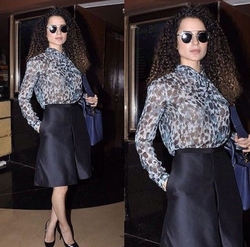 Kangana Ranaut at the MAMI Film Festival 2016. - SeenIt