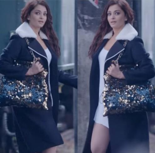 love aishwarya's sequin tote bag for party nights - SeenIt