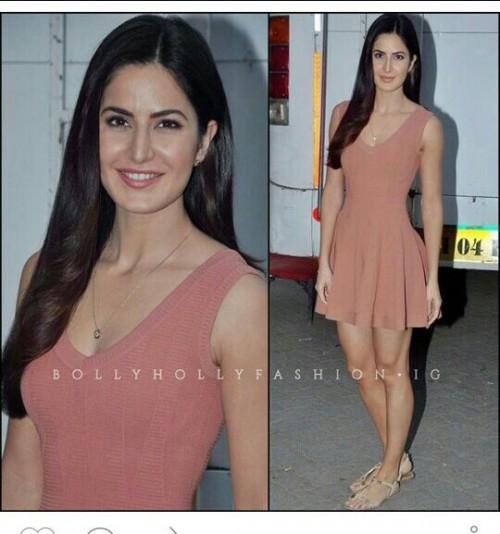 Love Katrina Kaif pink casual sleeveless dress - SeenIt 796d46c4f