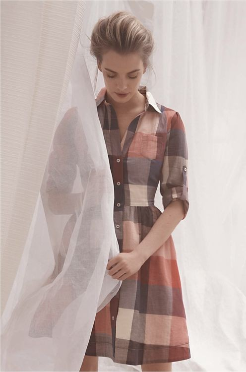 Can someone help me find a shirt tunic dress just like this one - the colours & plaid is perfect for winter - SeenIt