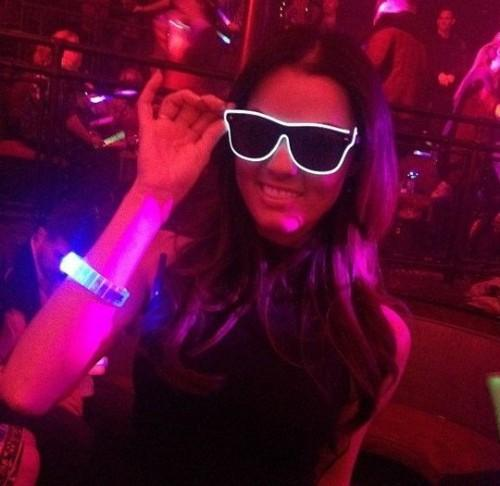 want similar sunglasses with LED for a concert I am attending! - SeenIt