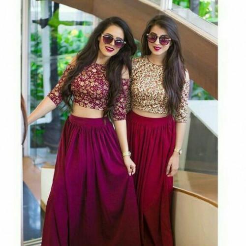 Shop Diwali2017 Lehenga Outfit On SeenIt