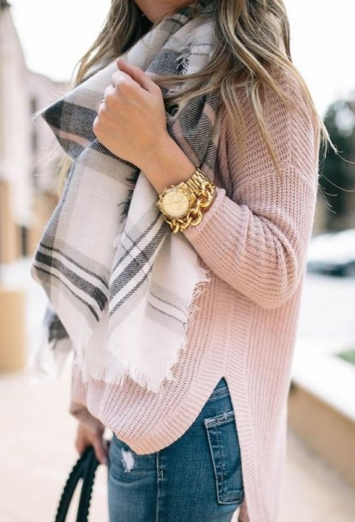 something similar to this plaid scarf from indian websites only please! 😊 - SeenIt