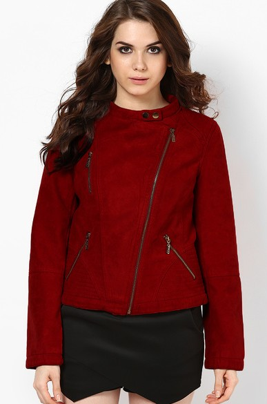 something similar to this faux leather jacket - SeenIt