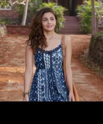 Alia Bhatt's casual spaghetti style summer dress - SeenIt