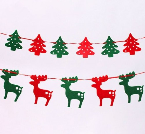 need these x-mas tree & reindeers christmas buntings. Any leads? - SeenIt