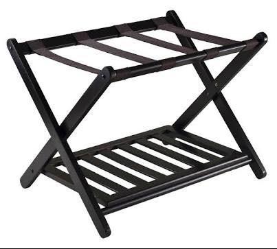 Need this wooden folding luggage rack immediately.. plz help - SeenIt