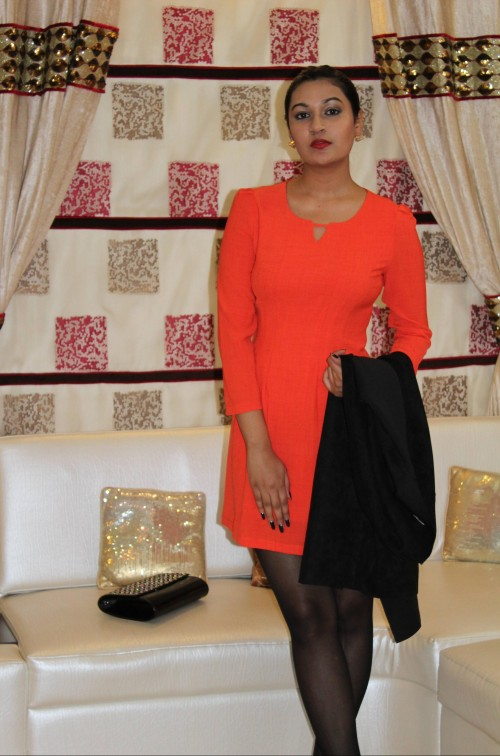 Have you seen this orange full sleeve dress?? - SeenIt