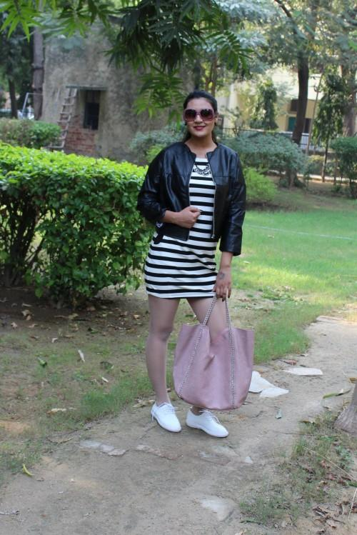 I am looking for a black and white striped dress for a long time now.. Can u help me get this? - SeenIt