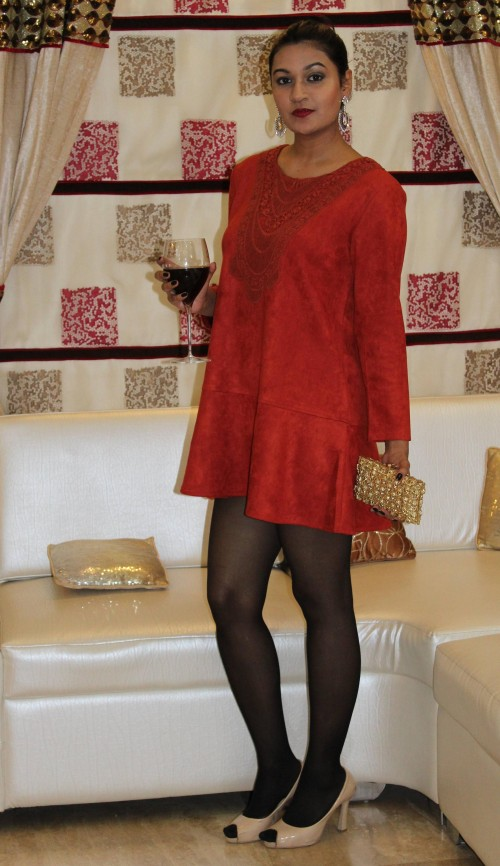 This red dress for a small party at my friend's place.. - SeenIt