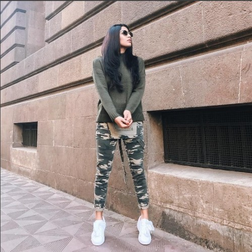 So chic! Get those white puma basket sneakers for me please! - SeenIt