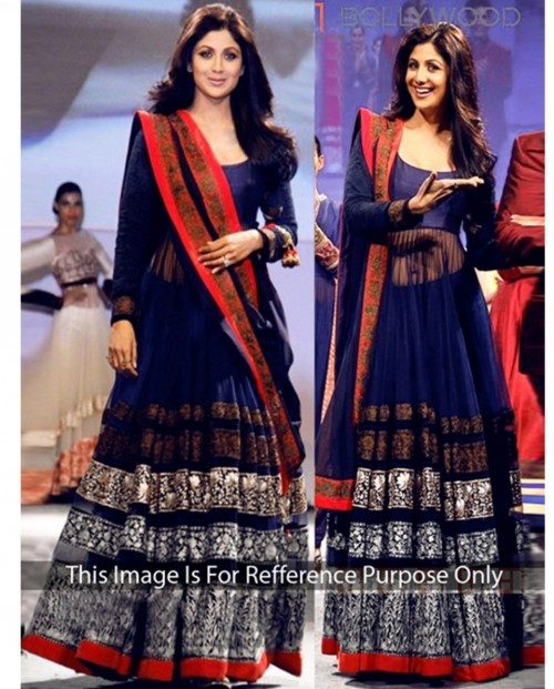 This blue lehenga anarkali. Any Indian site with cod at reasonable cost plz. - SeenIt