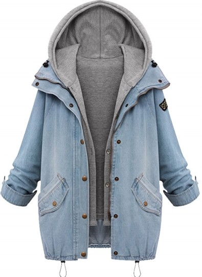 need a similar denim oversized jacket - SeenIt