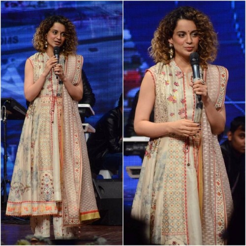 Kangana in Tarun Tahiliani..Definitely Yay for me. Whats your say? - SeenIt