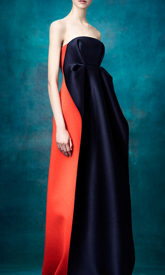 Lusting over this colour blocked maxi dress since ages - SeenIt