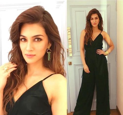 Obsessing over this Kriti Sanon's black jumpsuit <3<3 - SeenIt