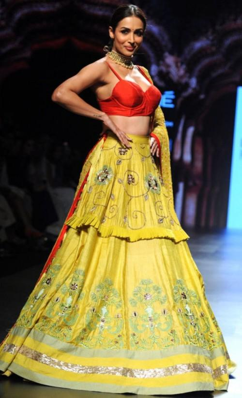 Yay or Nay? Malaika Arora strutted the ramp as a showstopper for Divya Reddy - SeenIt