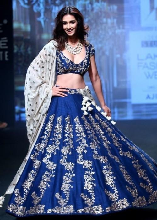 Yay or Nay ? Beautiful Disha Patani as a showstopper for Jayanti Reddy at the Lakme Fashion Week - SeenIt