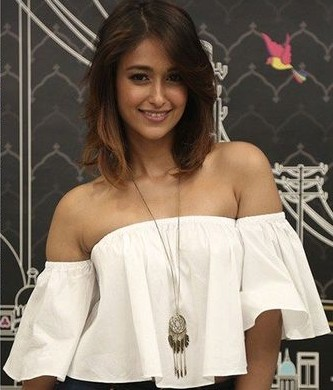 Ileana's white off shoulder bell sleeves top would go perfectly with me navy jeans!! Look for it please.. - SeenIt