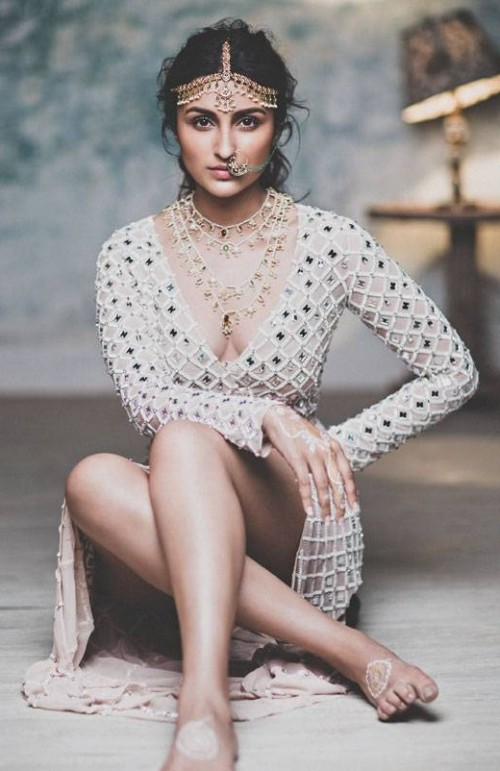 Yay or Nay? Parineeti Chopra is looking hot in this white dress and heavy ethnic jewellery. - SeenIt