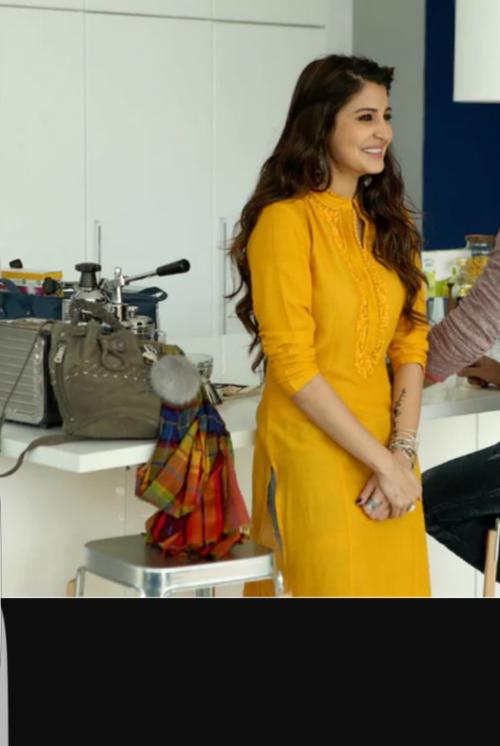 Want Anushka Sharma's yellow kurta like the one she wore in Ae Dil Hai Mushkil - SeenIt