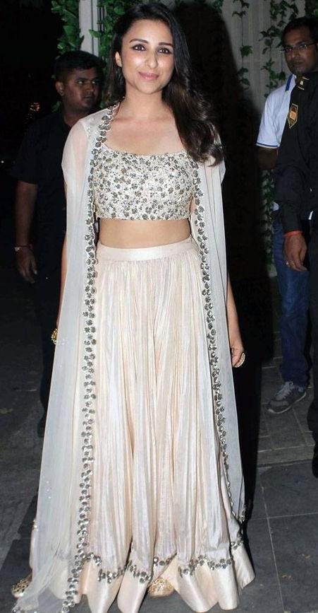 Yay or Nay? The White lehenga that Parineeti Chopra is wearing. - SeenIt