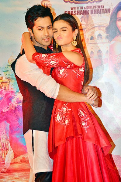 Want the similar red gown that Alia Bhatt twas wearing during the trailer launch of Badrinath ki Dulhania - SeenIt