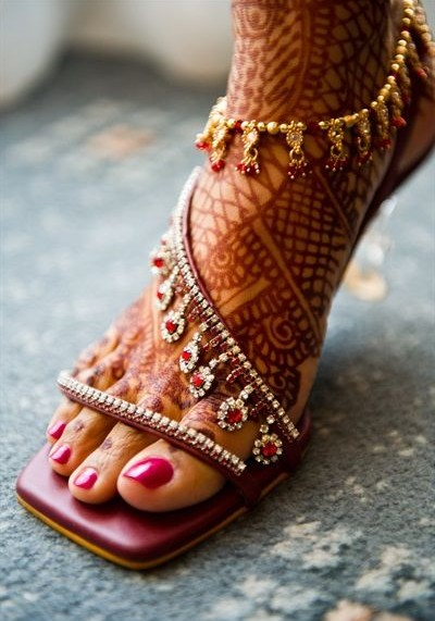 Gorgeous stone embellished sandals!!! - SeenIt