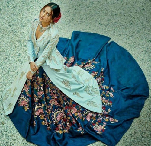 Yay or Nay? Sonakshi Sinha in the blue maxi skirt and top. - SeenIt