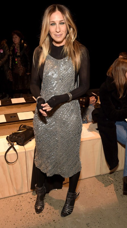 Yay or Nay? Sarah Jessica Parker attends the Narciso Rodriguez show during the New York Fashion Week in New York - SeenIt