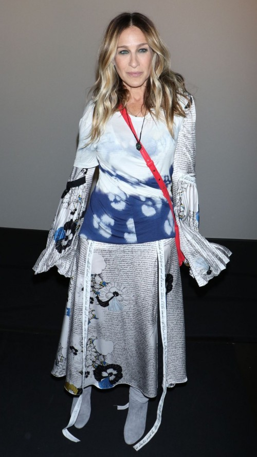 Yay or Nay? Sarah Jessica Parker attends the Prabal Gurung  show during the New York Fashion Week in New York - SeenIt