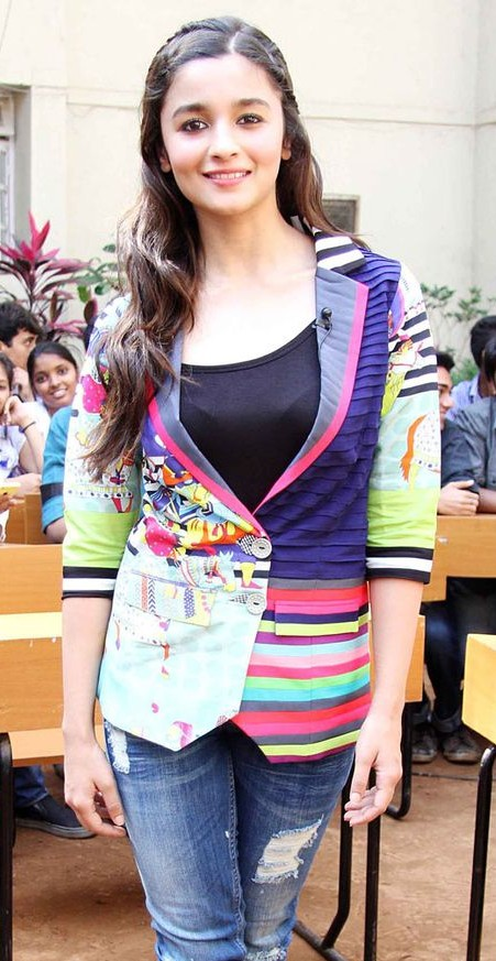 Yay or Nay? Alia Bhatt in this quirky Jacket. - SeenIt