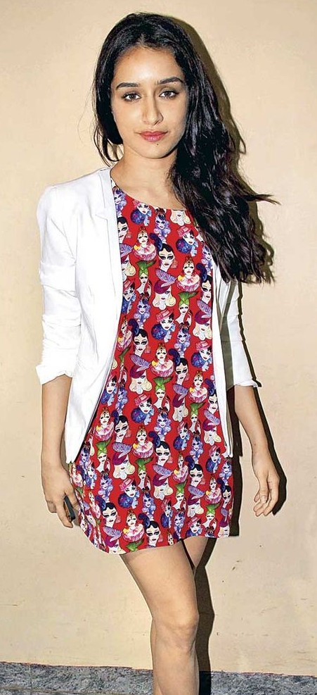 Looking for the white jacket that Shraddha Kapoor is wearing - SeenIt
