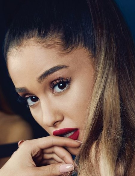Looking for the similar shade of lipstick that Ariana Grande is wearing - SeenIt