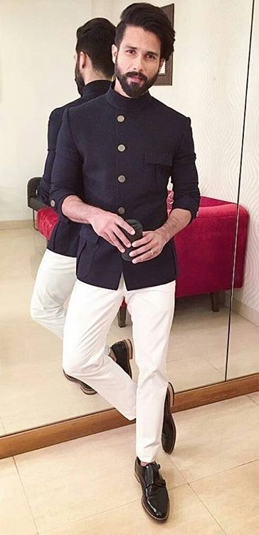 want a similar outfit to what Shahid wore in Koffee with Karan last night - SeenIt