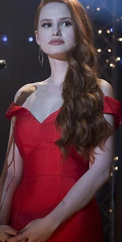 want a similar red off shoulder prom dress - SeenIt